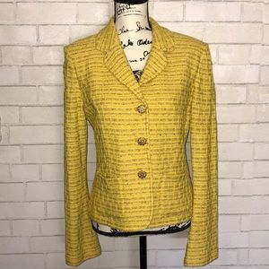 St. John Collection tweed blazer